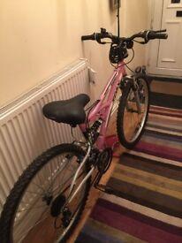 Ladies Pink Bicycle