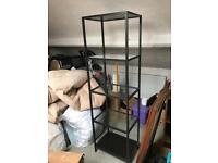 Ikea metal shelving unit