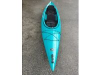 Vista 2 person kayak. Excellent condition with large open cockpit, 2 seats and foot rests.