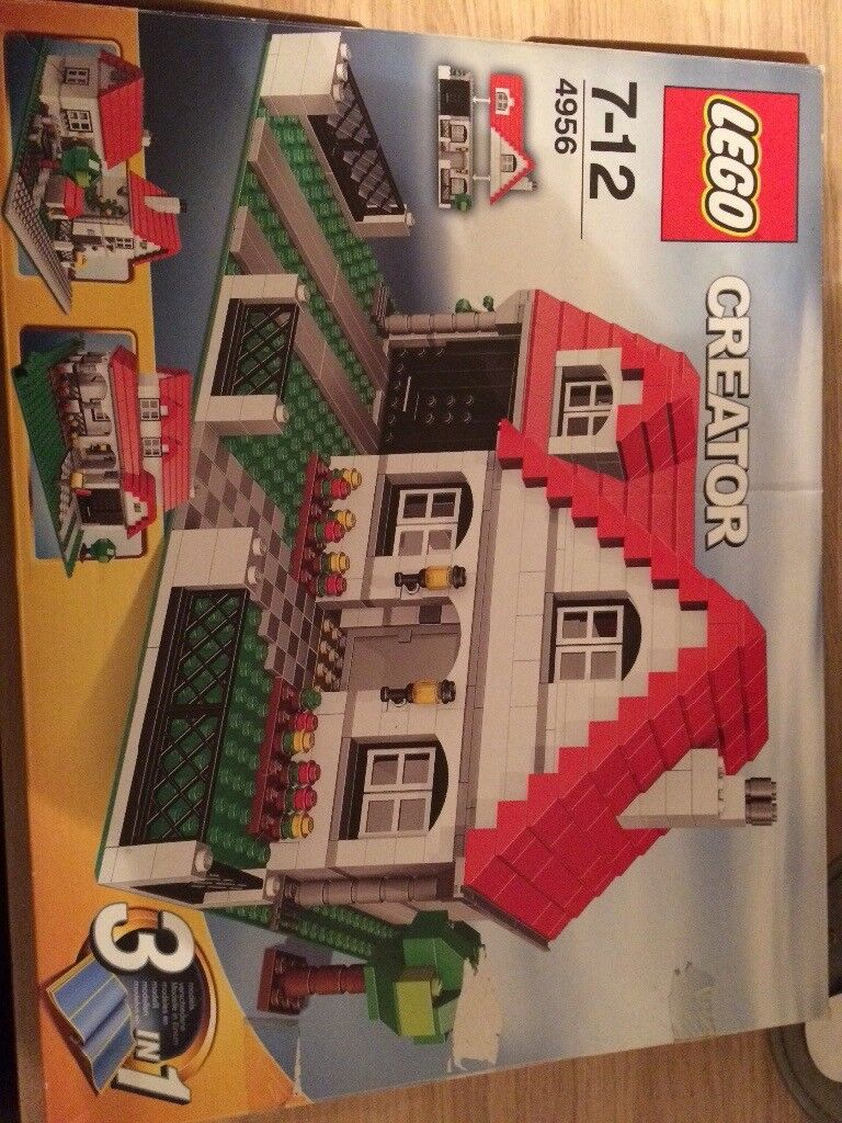 Lego Creator 3 in 1 house. Model 4956