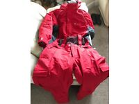 Skiing jacket @ trousers