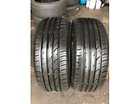 2 PW 215 55 16(93H) Continental ContiPremiumContact 2 Tread 6mm-7mm