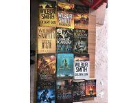 Wilbur Smith Simon Scarrow books
