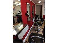 Salon & Backwash Chairs / Styling Station