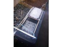 Real metal snow sledge - £5