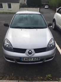 Renault Clio Campus 1.2 low mileage long MOT