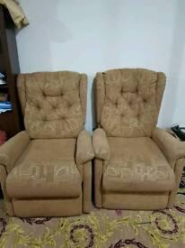 Good quality arm chairs