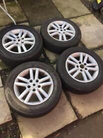 Vw caddy alloy wheels n tyres x4