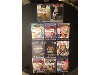 Large bundle or PlayStation games,