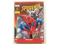 Spider-Man 1996 Series 4 DVD - RARE