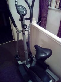 Cross trainer. Lovely machine.space needed