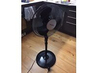 Honeywell HS-216E Oscillating and Tilt Stand Fan - Black