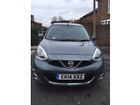 Nissan Micra Acenta 2014 Manual, 1.2 petrol, 3 owners, very low mileage 12.000