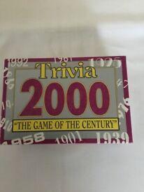 TRIVIA 2000 game £3