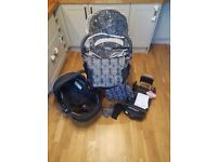 Silver Cross Limited Edition Monodot Travel System