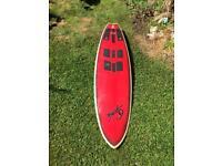 """Surfboard, 6""""8 Gale short board"""