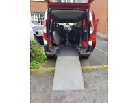 Fiat Doblo WAV (wheelchair adapted vehicle)