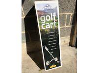 Crane Golf Trolley, Unused.