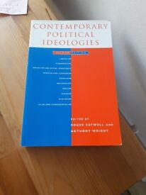 Contemporary Political Ideologies book