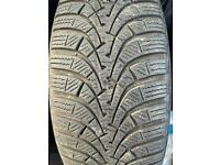 4 GOLF MK6 TYRES ALL WITH REALLY GOOD TREAD QUICK SALE!