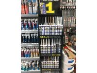 CT1 all colours sealant, bonds, mounts HRS ELECTRICAL LTD