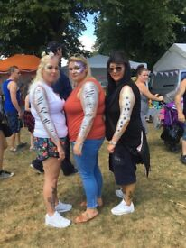 FESTIVAL STYLE FACE AND BODY GLITTER PAINT