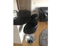 Leather bar chairs for sale