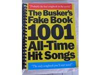 THE BUSKER'S FAKE BOOK 1001 ALL-TIME HIT SONGS