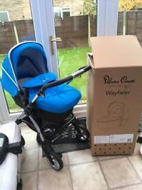 Silvercross Wayferer complete travel system_sky blue (RRP £695)