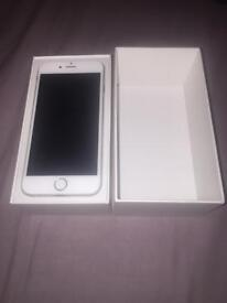 I phone 6 silver mint condition no scratches