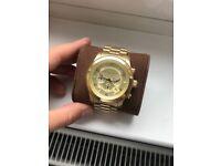 Michael Kors - Men's Runway Gold Watch - CHEAP! (From £259 - £50)