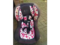 Girls Used Car Seat