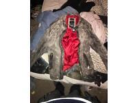 DIESEL Leather jacket.