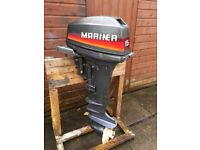 Mariner 15hp Long Shaft Outboard for remotes