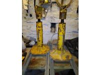 3.5t cable jacks/axle stands