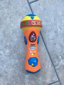 Vtech child toy microphone