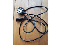 Standard Black Volex Kettle Plug