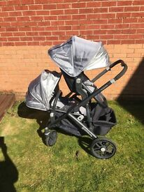 Uppababy Vista single/double
