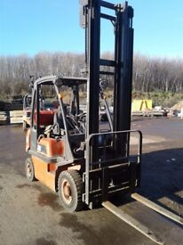 Nissan d20 fork lift 1.7tonn lift