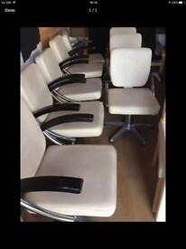 Salon chairs