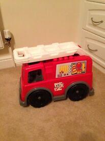 Mega bloks fire engine
