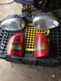 VAUXHALL CORSA B LIGHTS FOR SALE