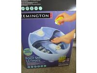 Lovely Remington Foot Spa-still in box