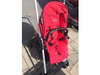 Maxi cosi baby pram and car seat including raincover and body cover