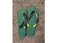 New - Men's Havaiana's Flip Flops / Sandals - Size 10