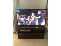"Samsung 55"" curved smart Tv"