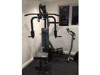 Multi gym - ideal starter set up.
