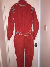 Sparco car race suit