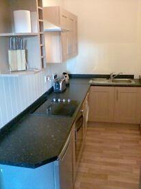 Excellent 1 bedroom furnished flat in central Inverurie