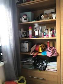 Wardrobes and shelves